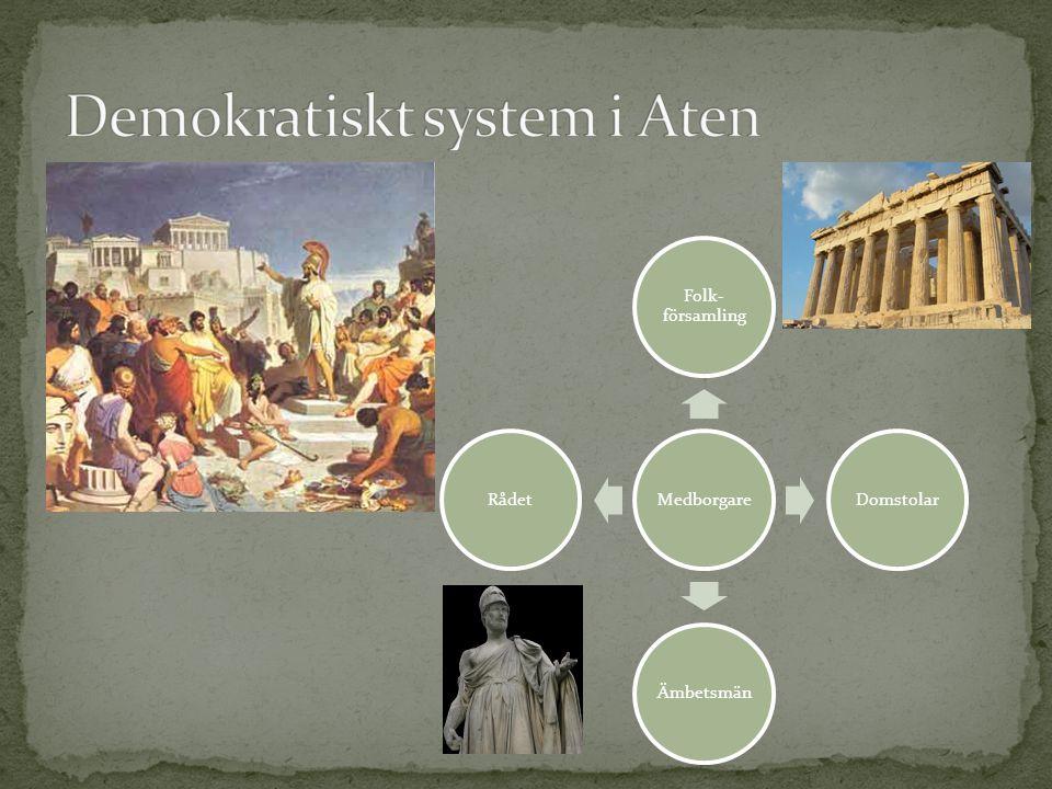 Demokratiskt system i Aten