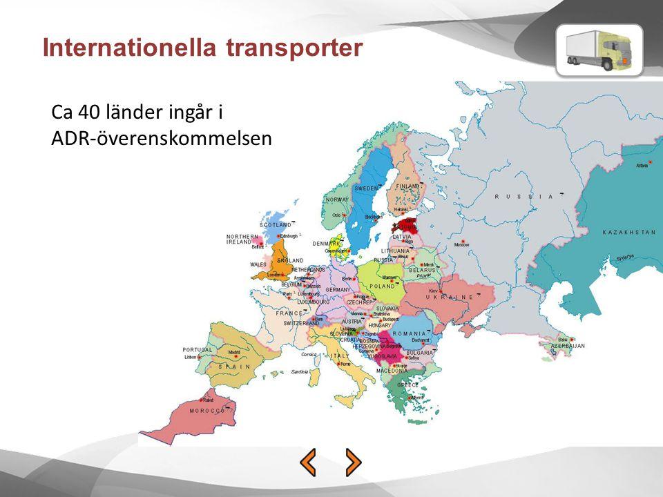 Internationella transporter