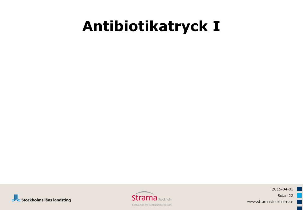 Antibiotikatryck I