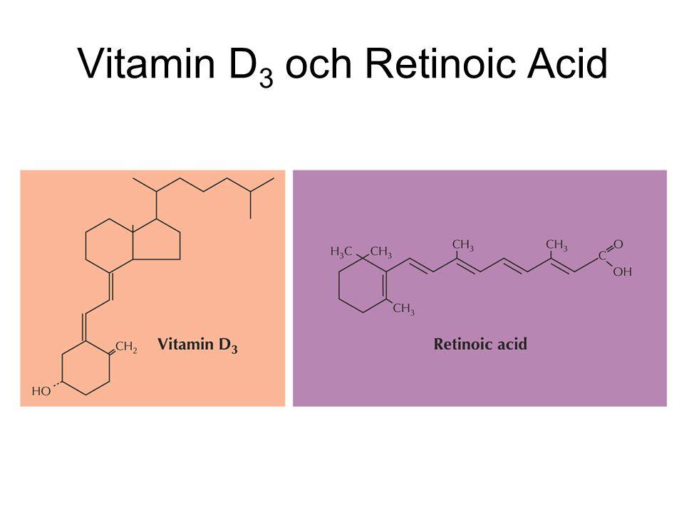 Vitamin D3 och Retinoic Acid