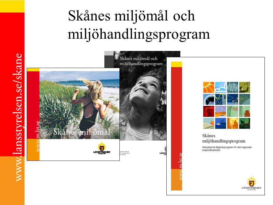 Skånes miljömål och miljöhandlingsprogram
