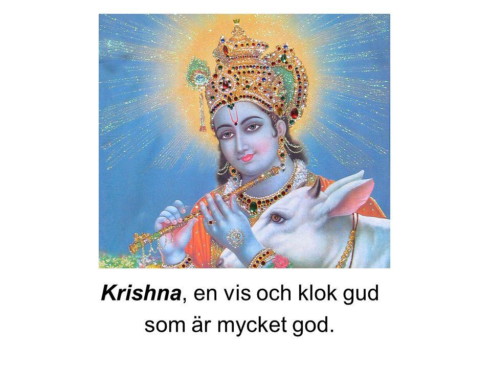 Krishna, en vis och klok gud