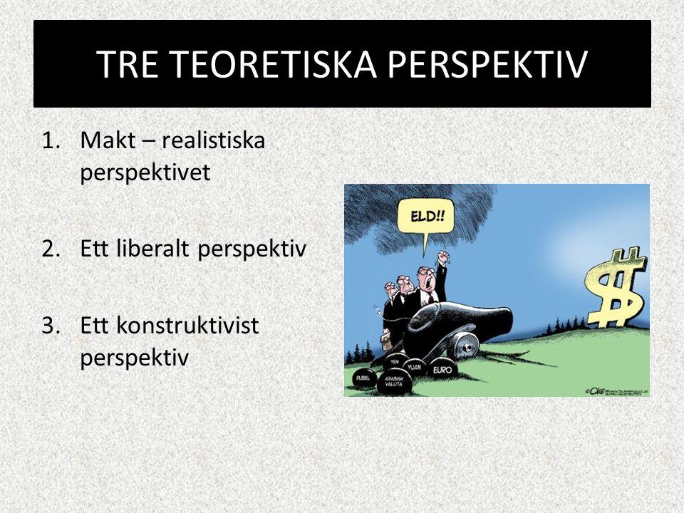 TRE TEORETISKA PERSPEKTIV
