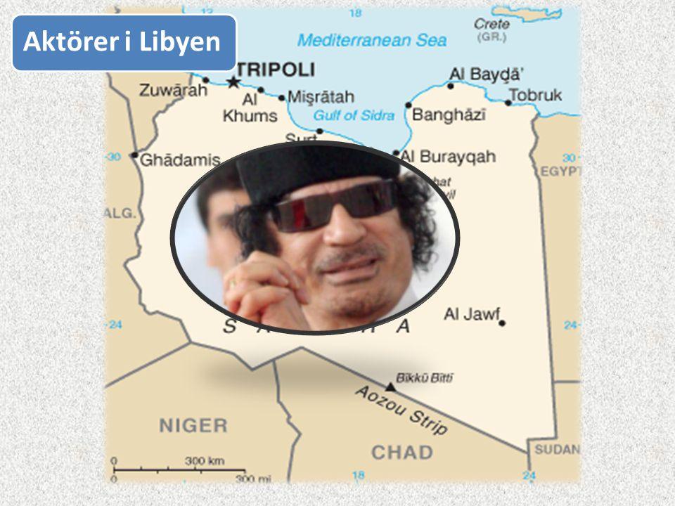 Aktörer i Libyen