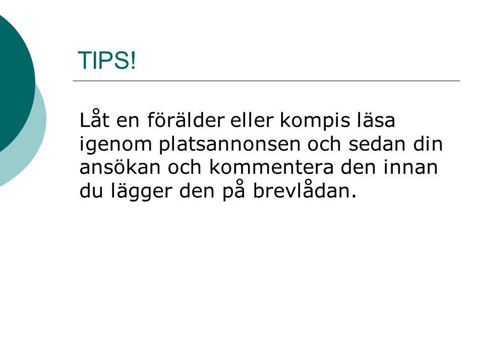 TIPS.