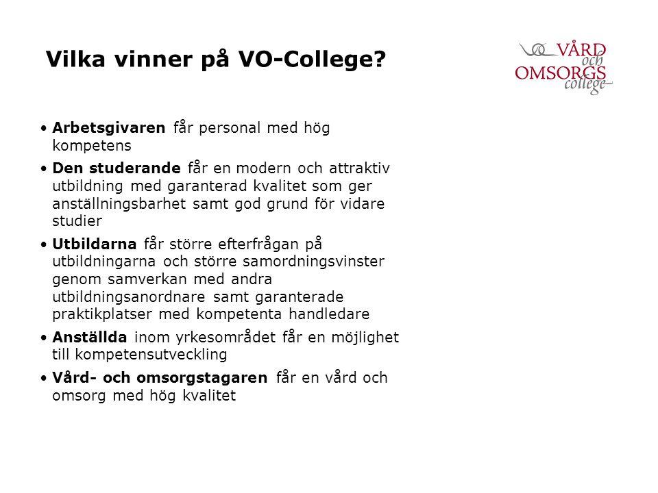 Vilka vinner på VO-College