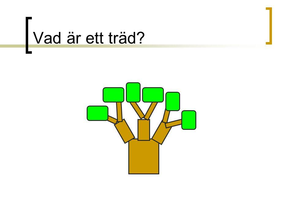 Vad är ett träd