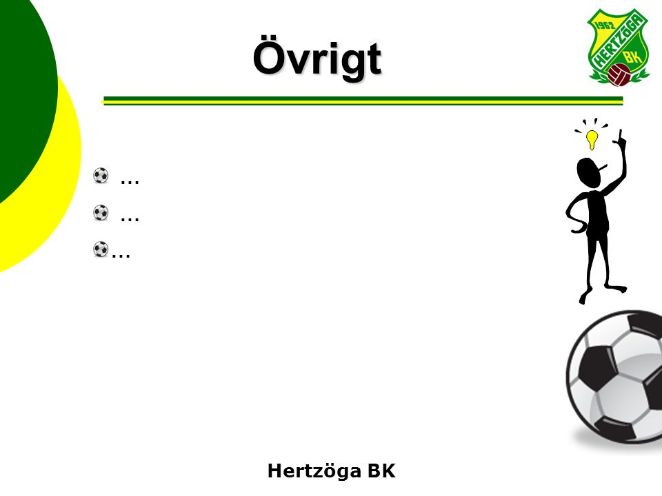 Övrigt … Hertzöga BK