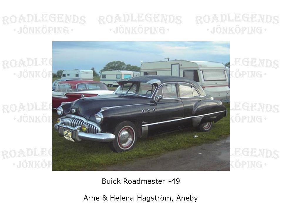 Arne & Helena Hagström, Aneby