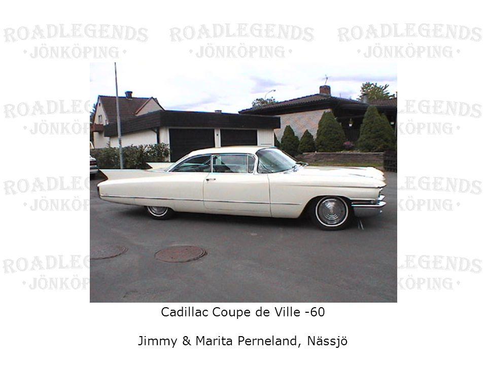 Cadillac Coupe de Ville -60 Jimmy & Marita Perneland, Nässjö