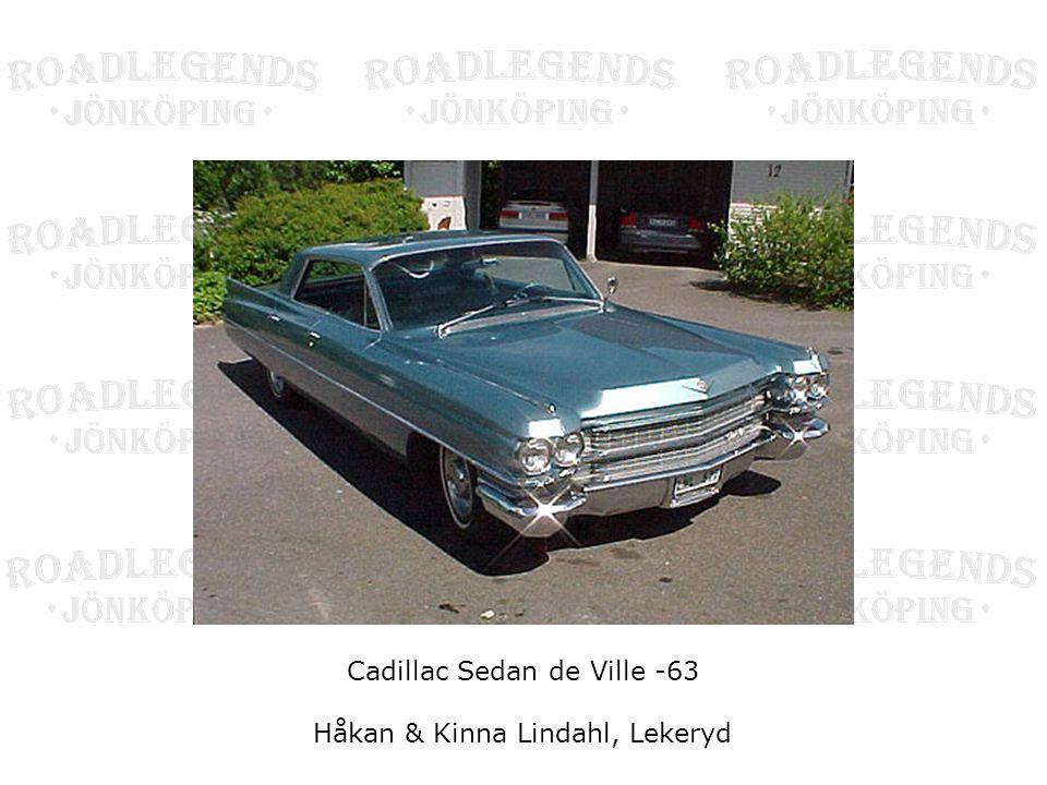 Cadillac Sedan de Ville -63 Håkan & Kinna Lindahl, Lekeryd