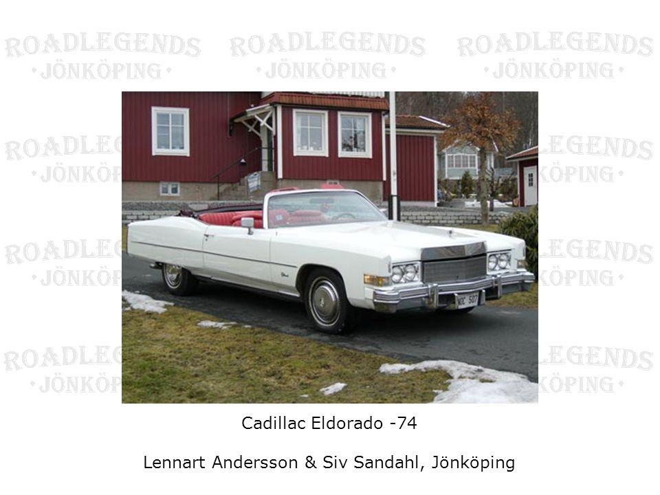 Lennart Andersson & Siv Sandahl, Jönköping