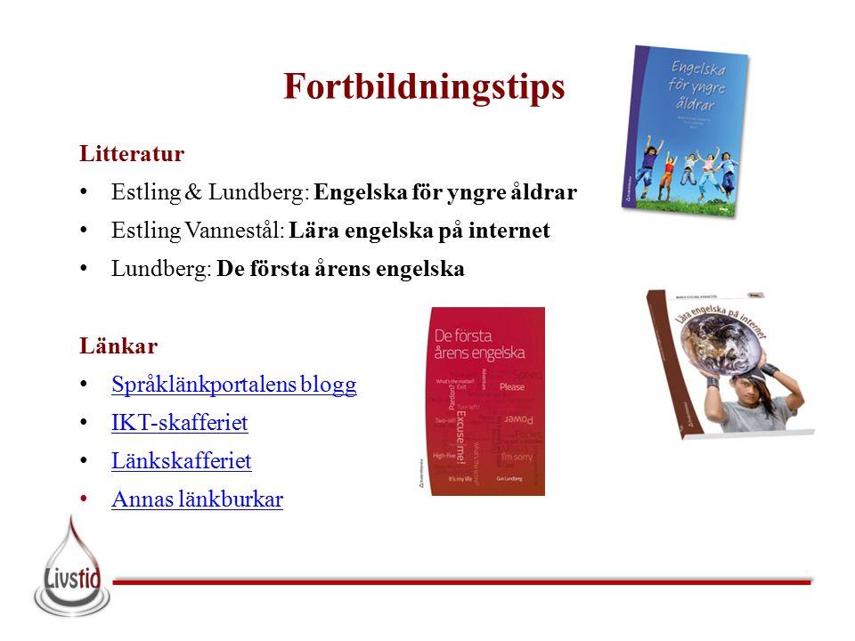 Fortbildningstips Litteratur