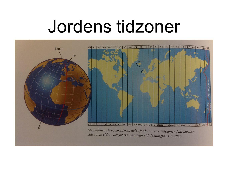 Jordens tidzoner