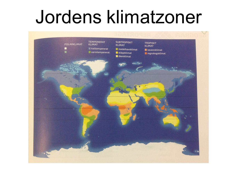 Jordens klimatzoner