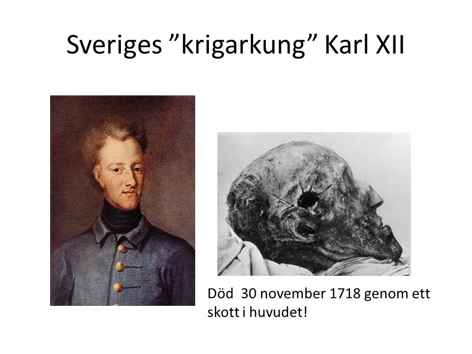 Sveriges krigarkung Karl XII