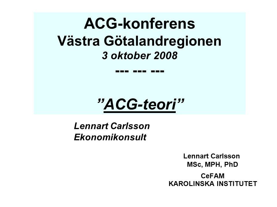 Lennart Carlsson MSc, MPH, PhD