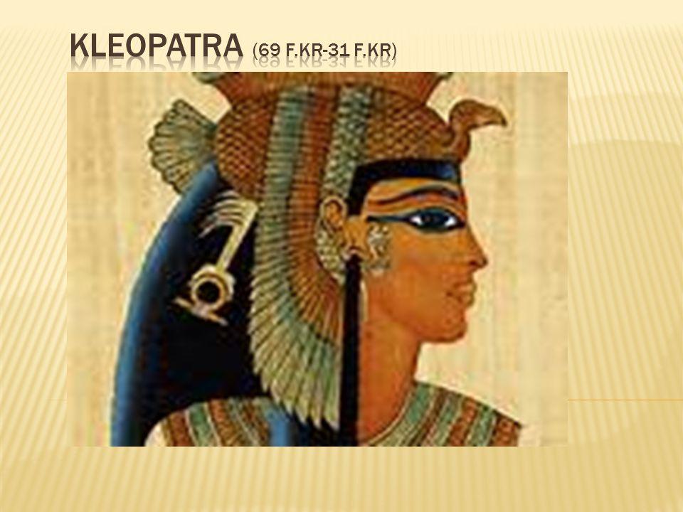 Kleopatra (69 f.Kr-31 f.Kr)