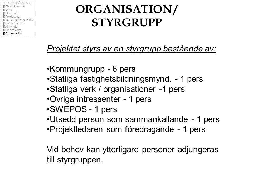 ORGANISATION / STYRGRUPP