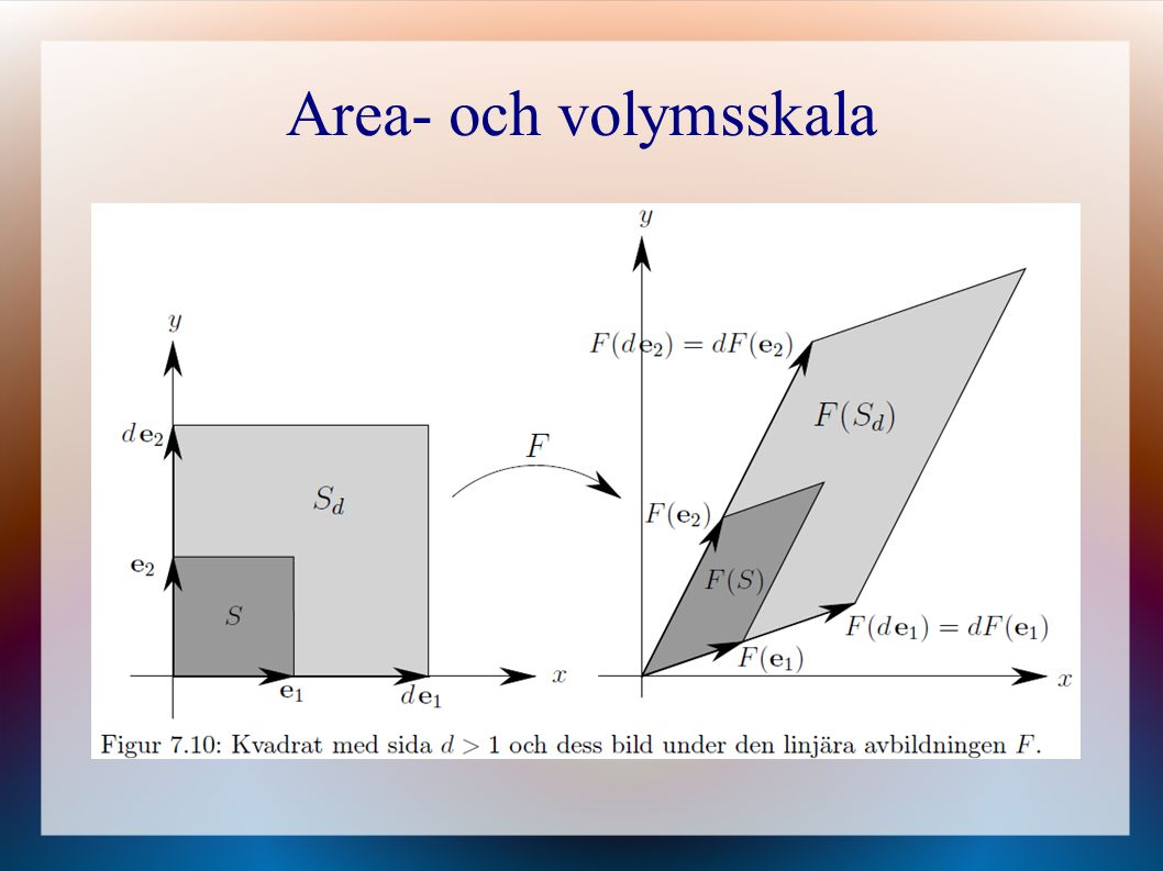 Area- och volymsskala