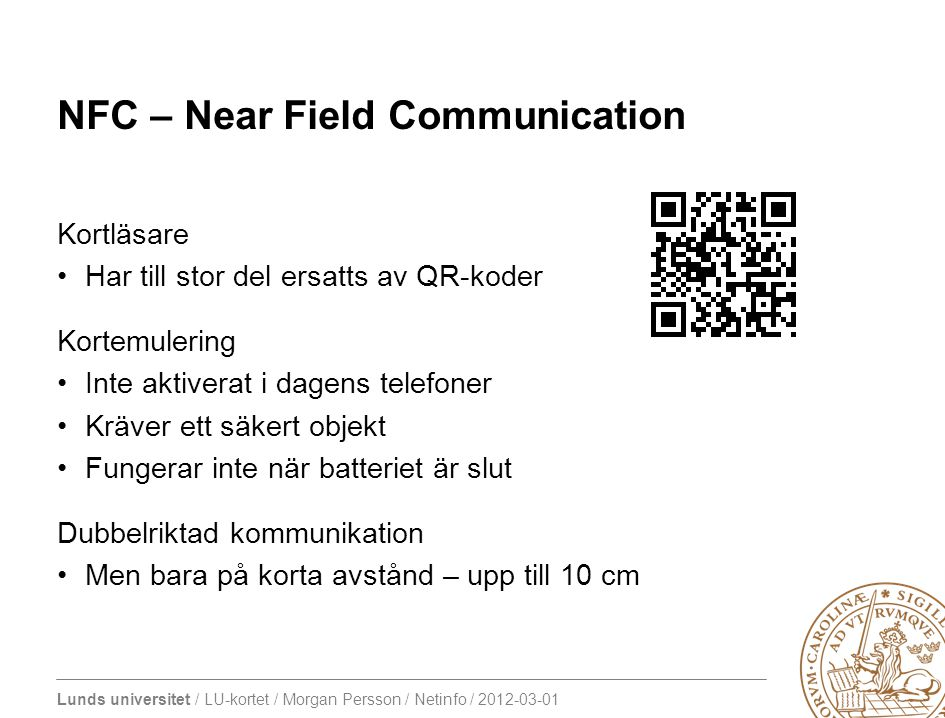 NFC – Near Field Communication