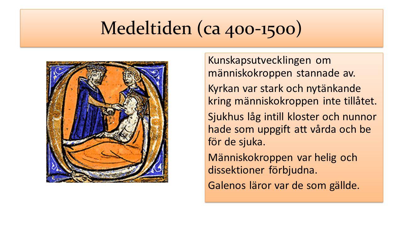 Medeltiden (ca 400-1500)