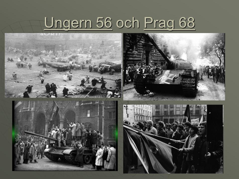 Ungern 56 och Prag 68