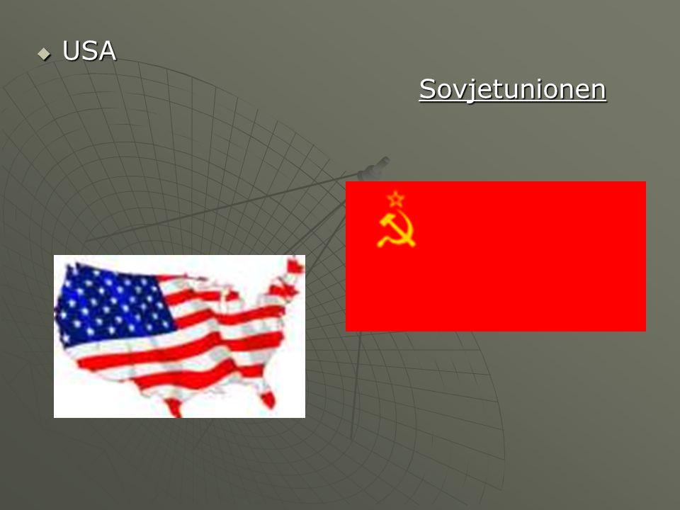 USA Sovjetunionen