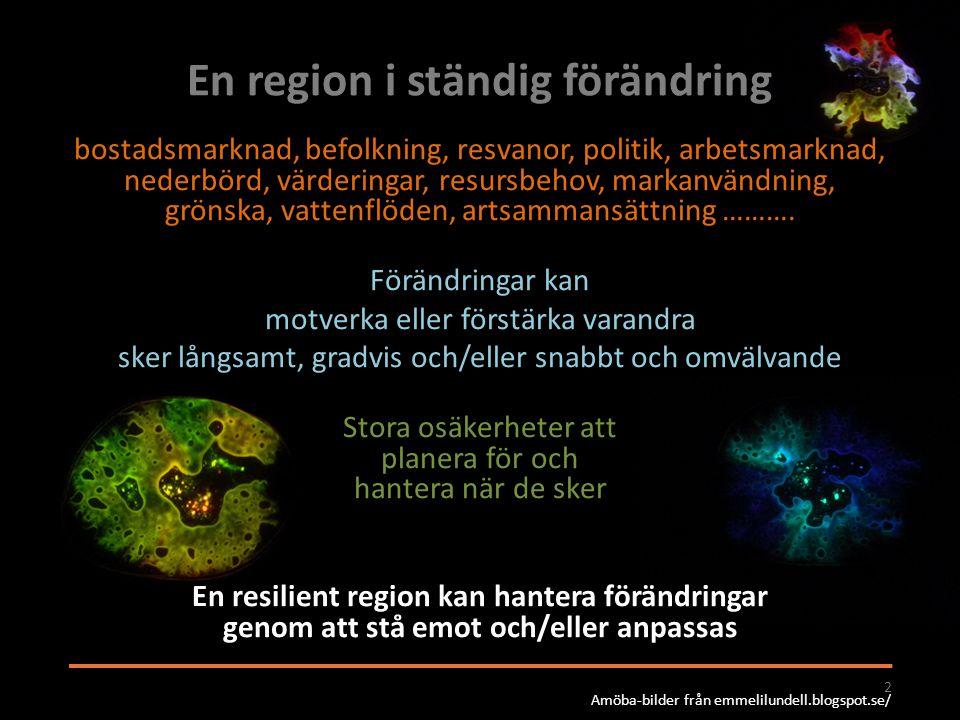 En region i ständig förändring