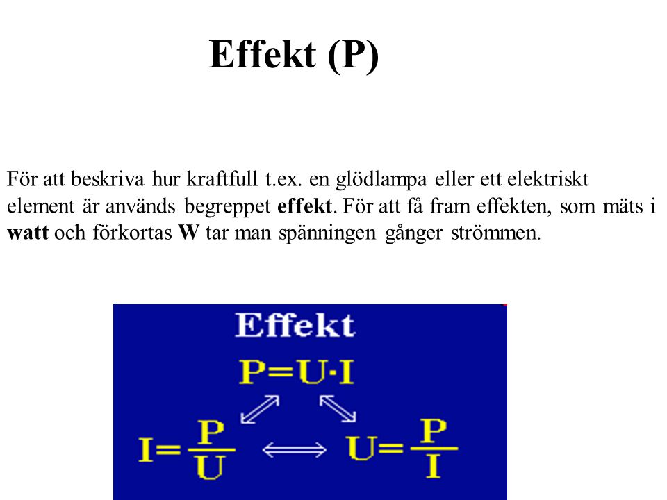 Effekt (P)