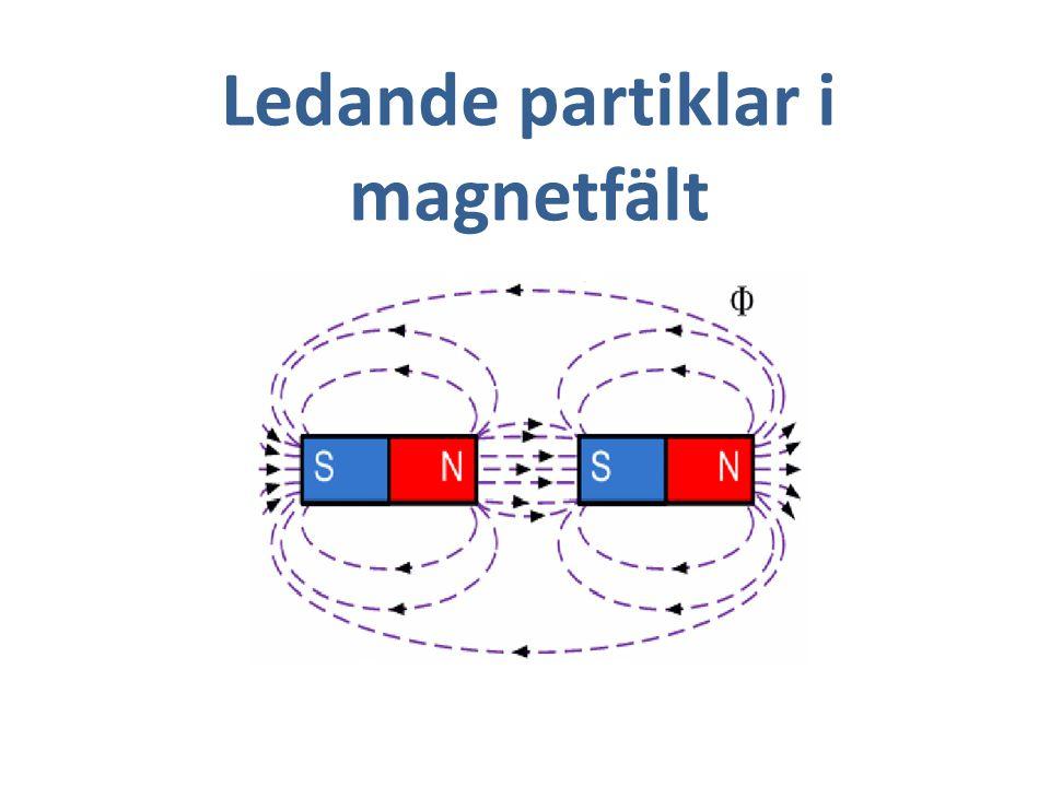 Ledande partiklar i magnetfält