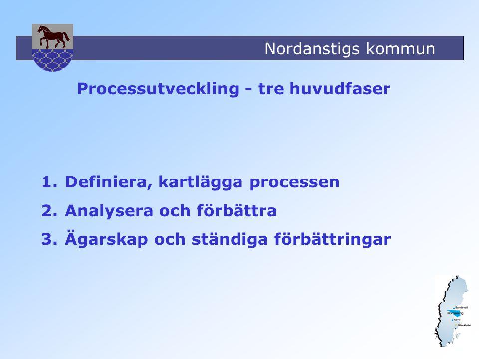 Processutveckling - tre huvudfaser