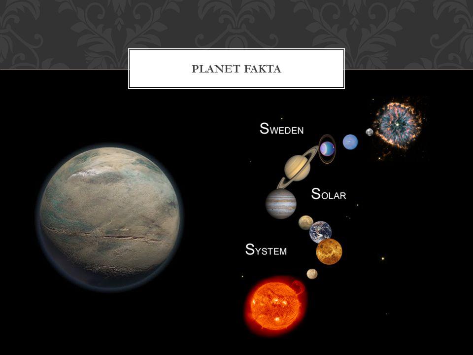 Planet fakta