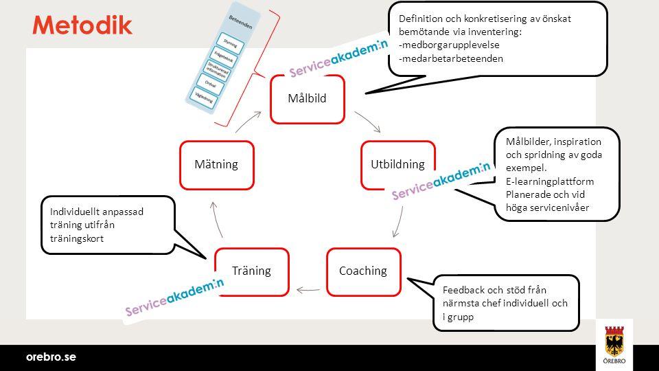 Metodik Målbild Utbildning Coaching Träning Mätning