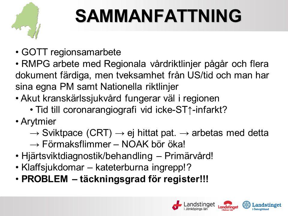 SAMMANFATTNING GOTT regionsamarbete
