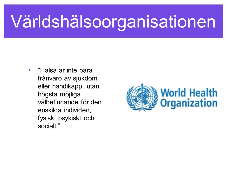 Världshälsoorganisationen