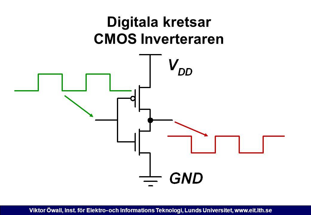 Digitala kretsar CMOS Inverteraren