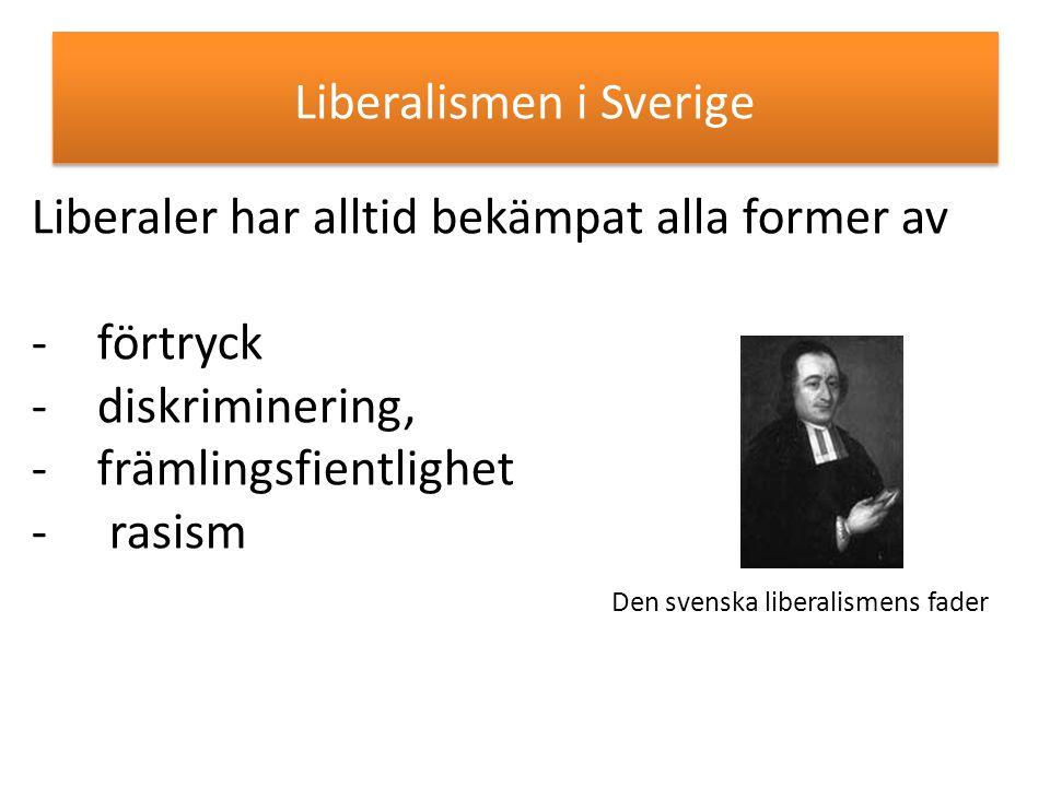 Liberalismen i Sverige