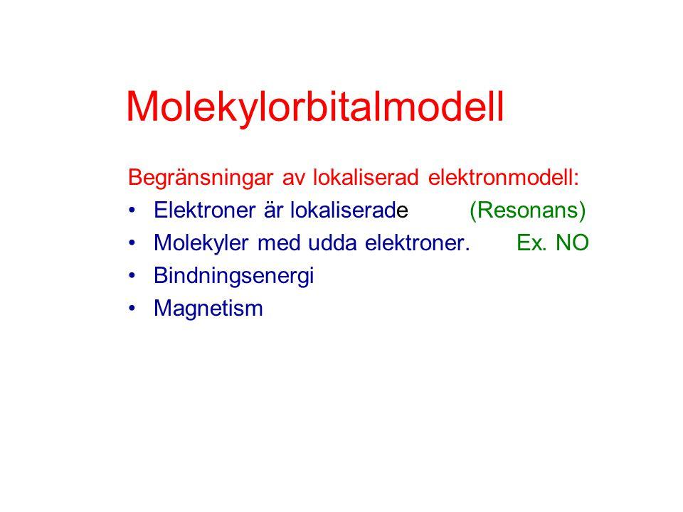 Molekylorbitalmodell