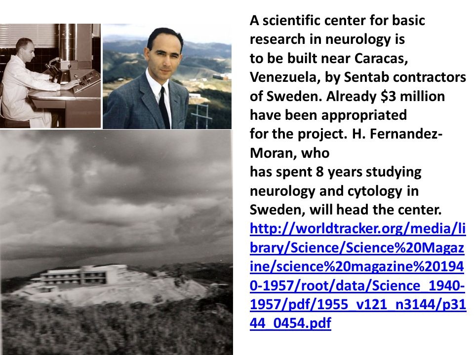 A scientific center for basic research in neurology is