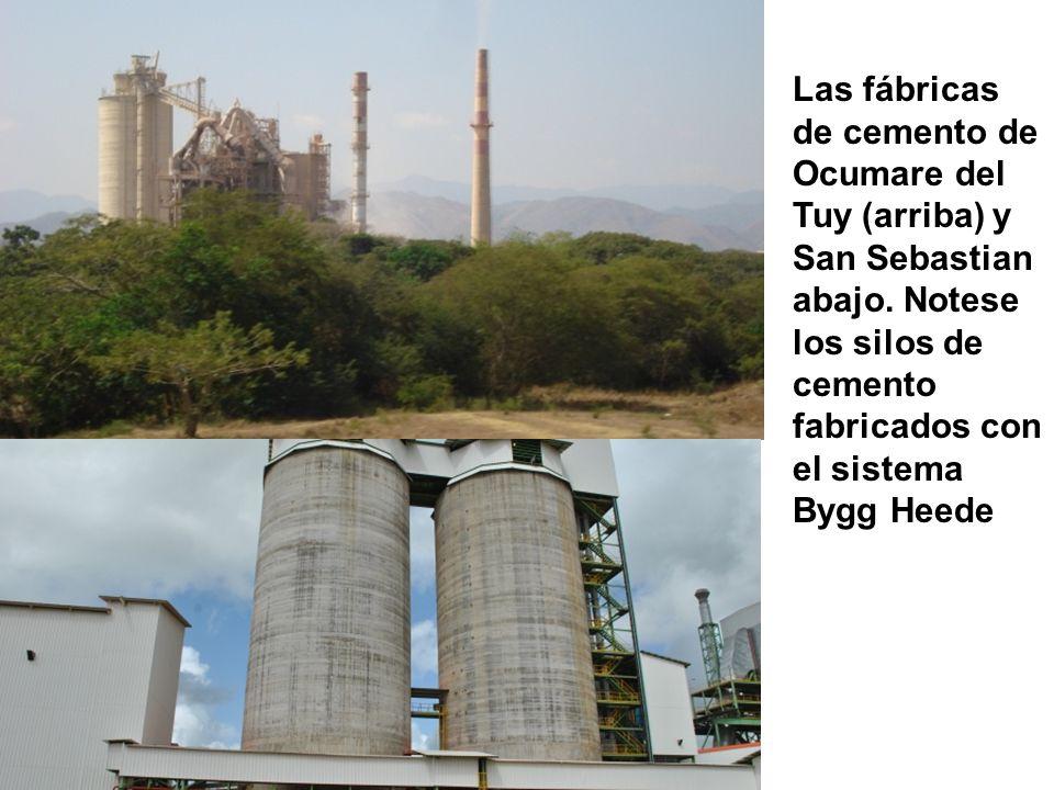 Las fábricas de cemento de
