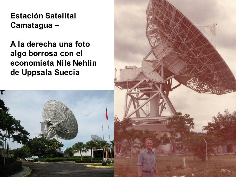 Estación Satelital Camatagua –