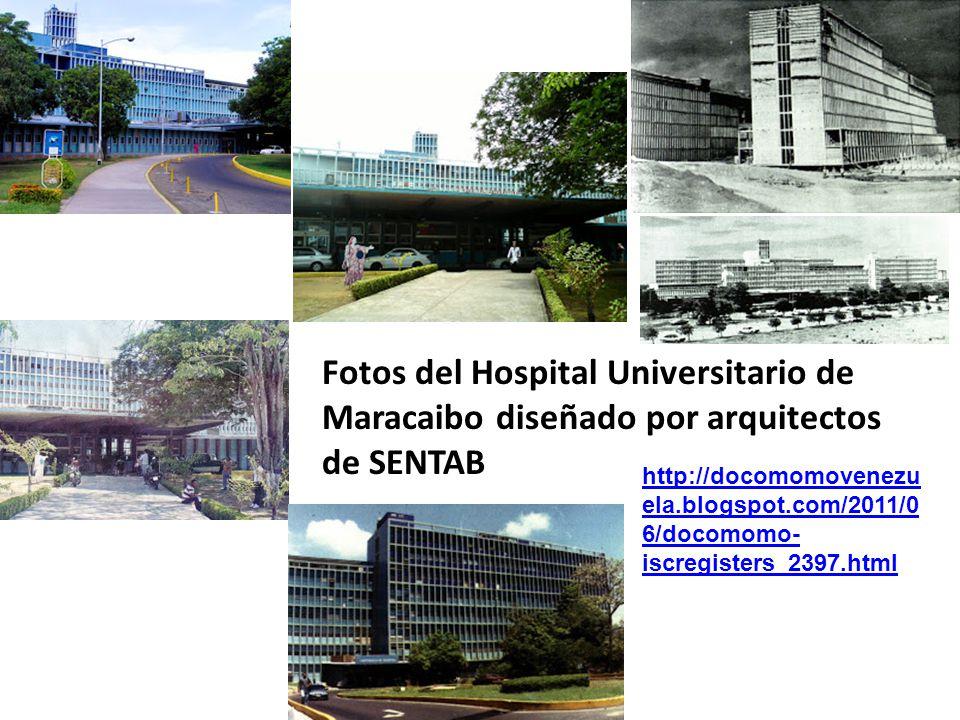 Fotos del Hospital Universitario de Maracaibo diseñado por arquitectos de SENTAB