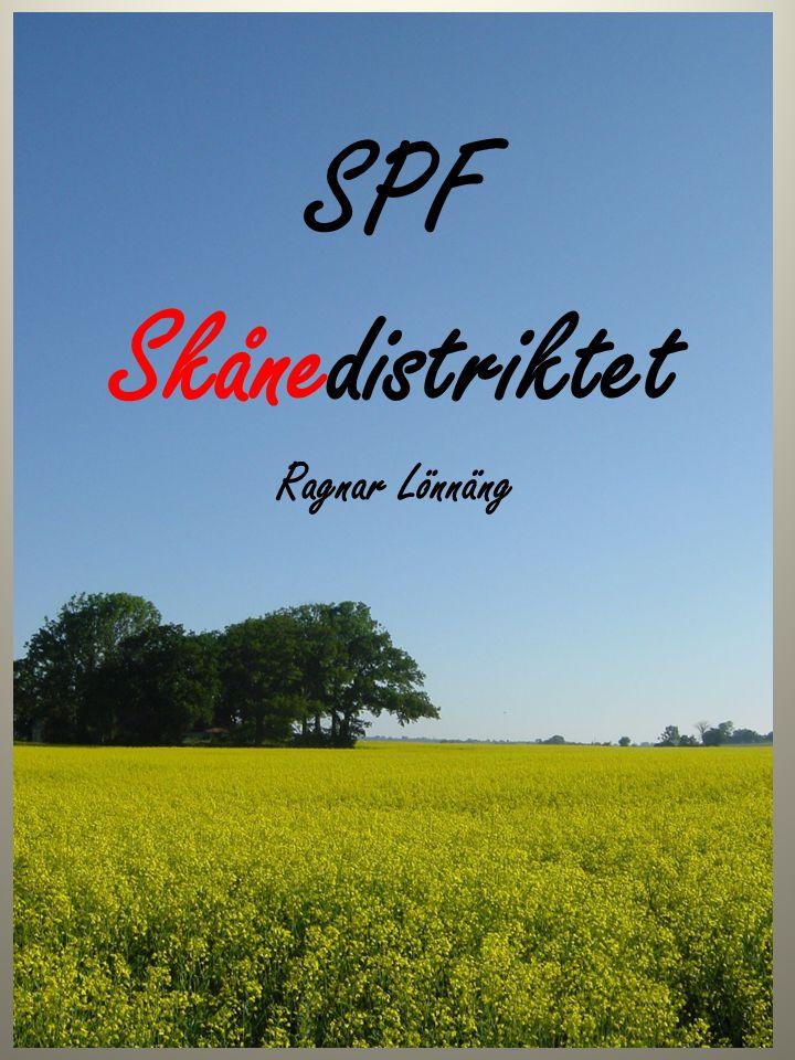 SPF Skånedistriktet Ragnar Lönnäng
