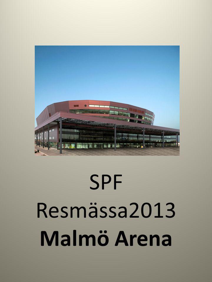 SPF Resmässa2013 Malmö Arena