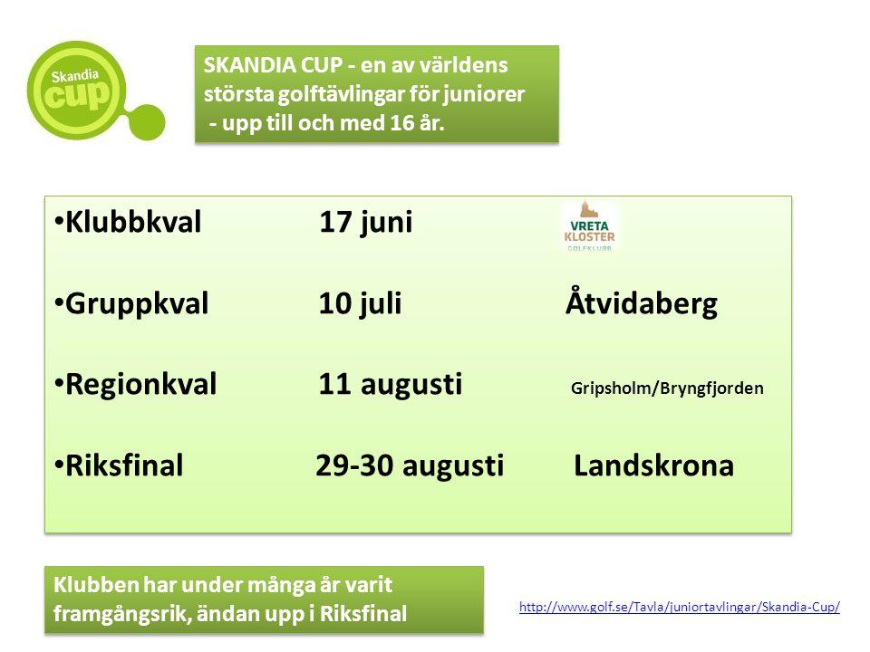 Gruppkval 10 juli Åtvidaberg