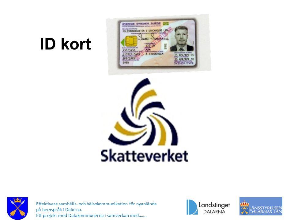 ID kort Om du inte har pass eller om du bara har främlingspass så kommer du att ha svårt att. få ut pengar från banken och att öppna konto i banken.