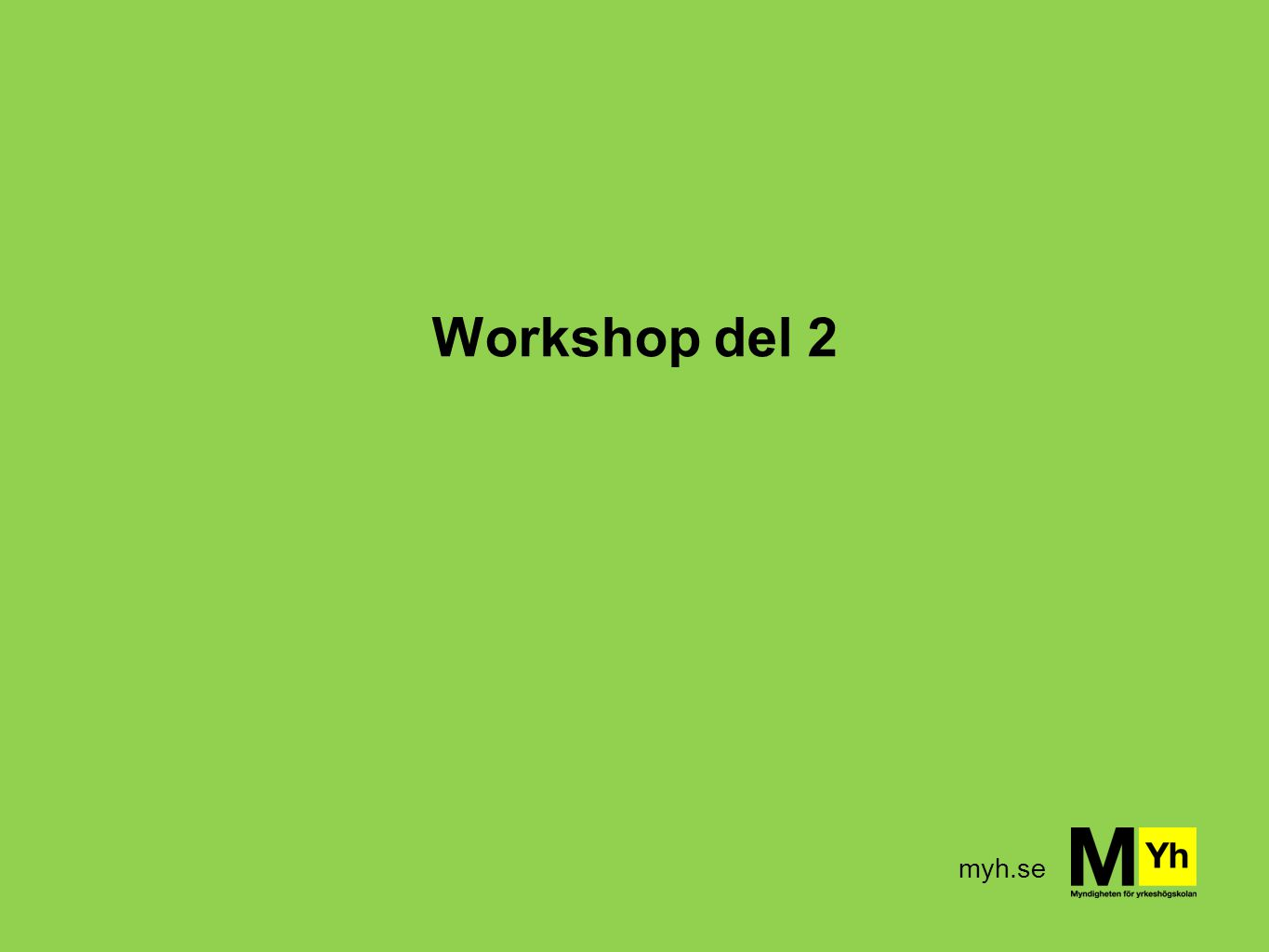Workshop del 2