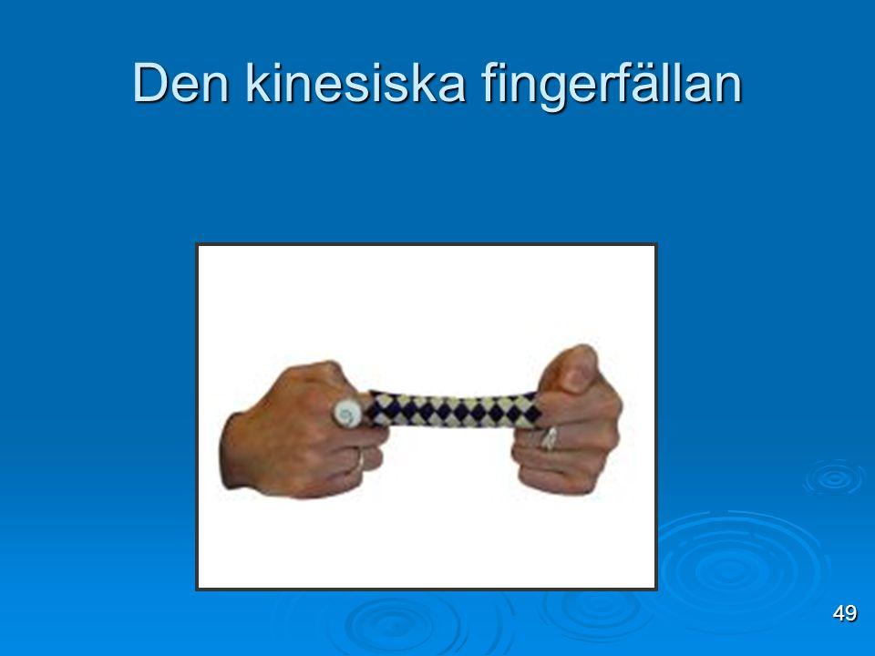 Den kinesiska fingerfällan
