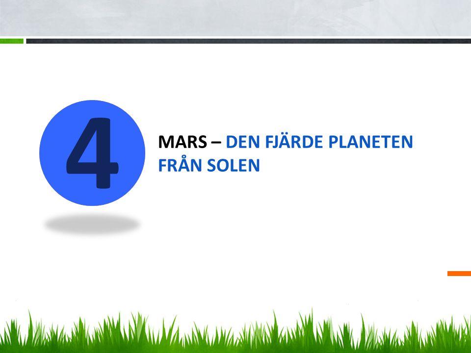 mars – den fjärde planeten från solen